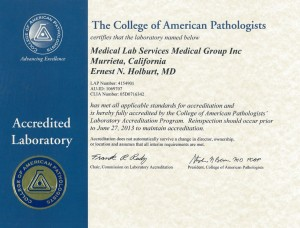 The College of American Pathologists